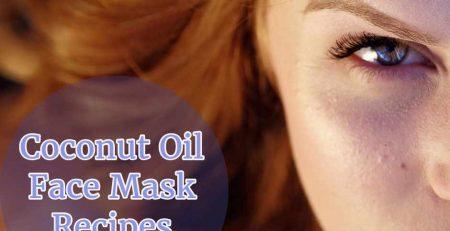 coconut oil face masks