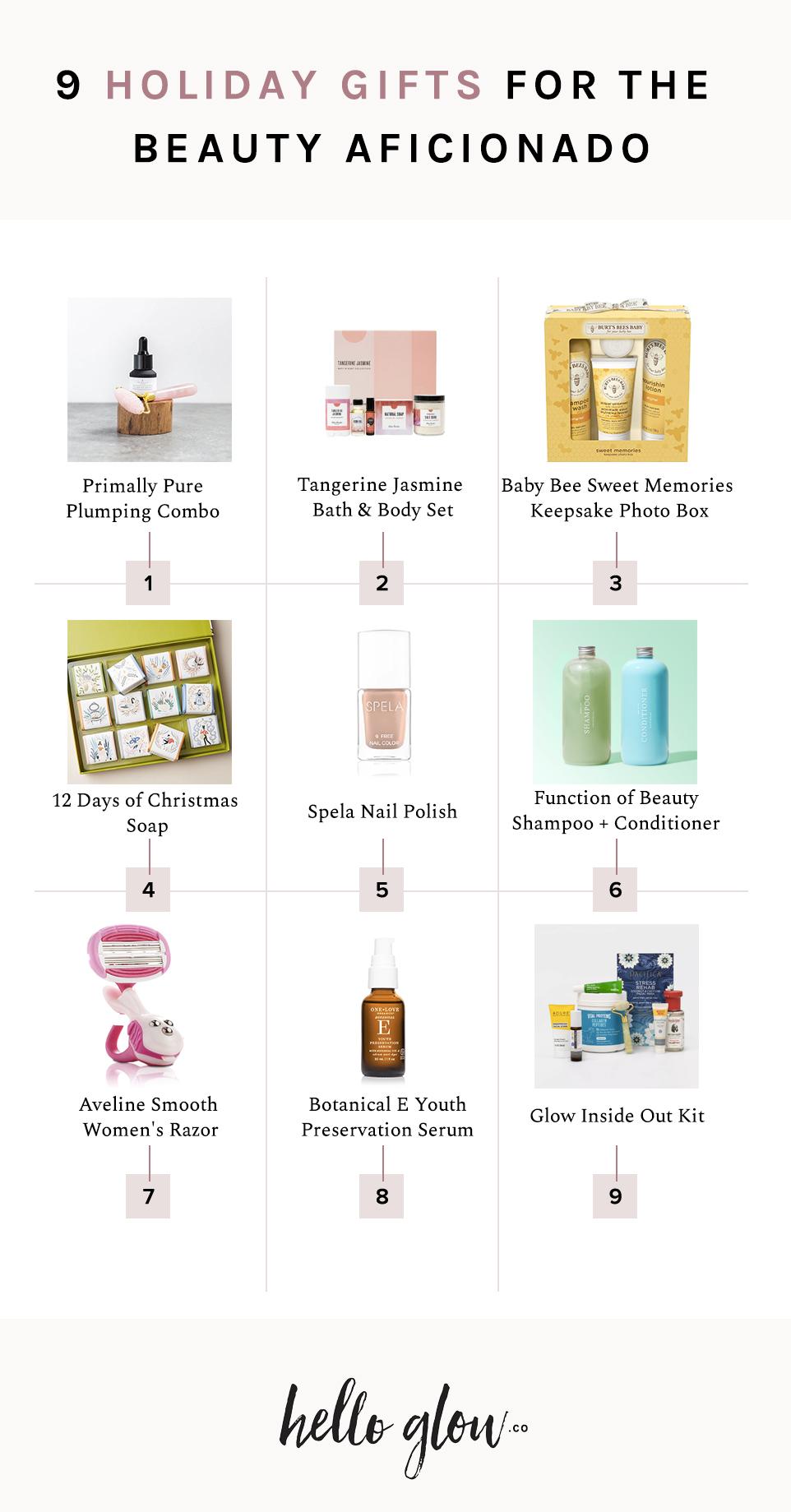 9 Holiday Gifts For The Beauty Aficionado