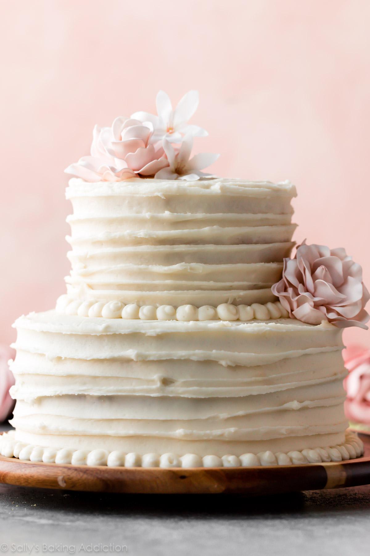 Simple Homemade Wedding Cake Recipe
