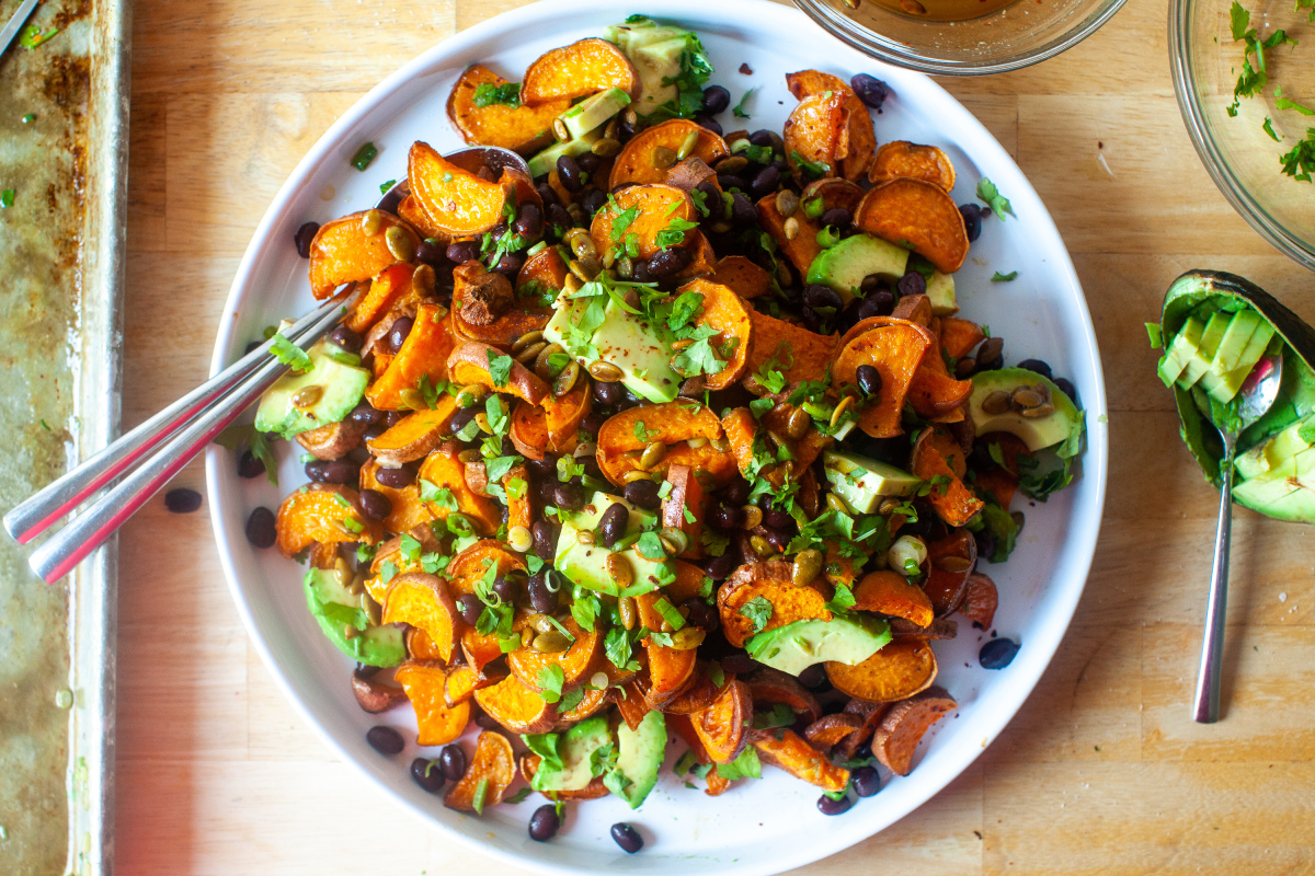 Sweet Potato Salad With Pepita Dressing