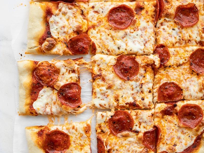 No-Yeast Pizza Dough