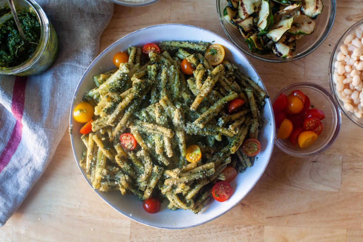 Pasta With Pesto Genovese