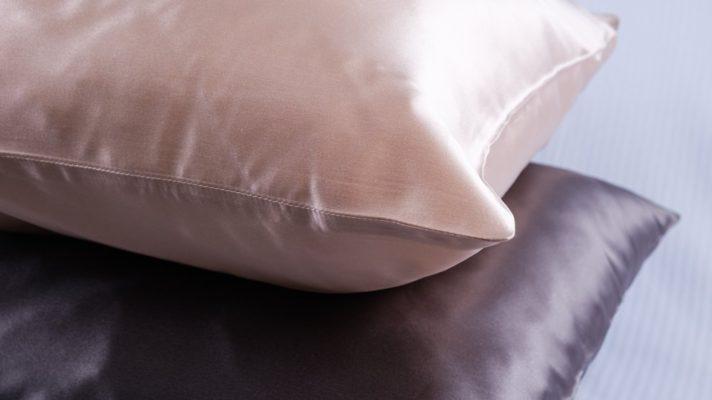 use satin pillow case to avoid wrinkles